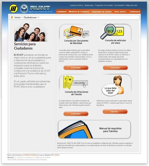 impuestos consulta del runt aseguradora de vehculos particulares y www runt com www runt com co ciudadanos consulta por
