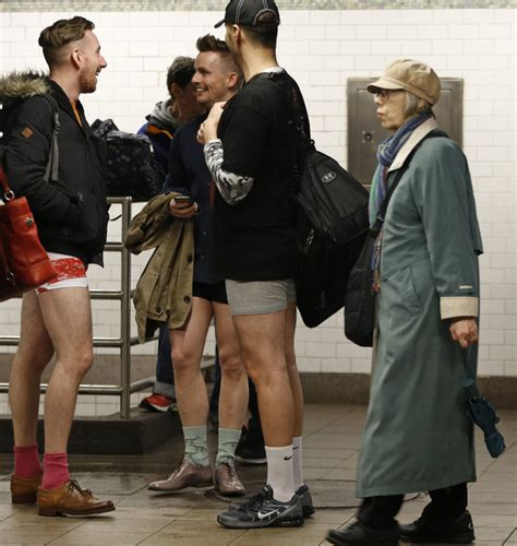 public view of men in thongs public transit riders in 60 countries strip to underwear