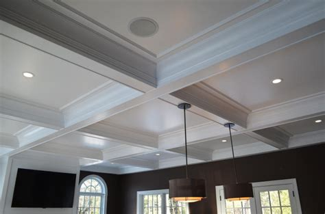 Coffered Ceiling Height by Coffered Ceilings