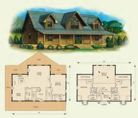 Log Cabin Open Floor Plans by Fair Oaks Log Home And Log Cabin Floor Plan 2084sf Main