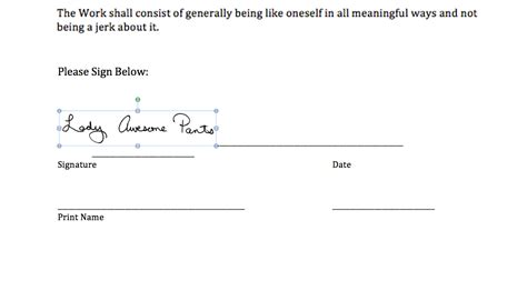 signature page template signing digital contracts adding your signature to a ms