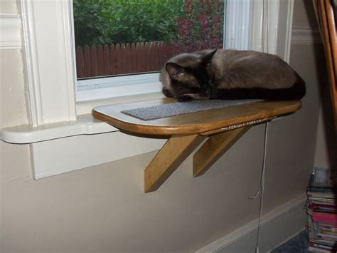 window cat seat perch cat window seat bed bench scratching pad wooden
