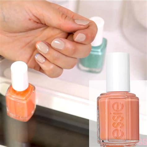 Nägel Lackieren Unterlack überlack by Essie Nagellack Gel Effekt Pastelliges Pink Ohne Uv Tart