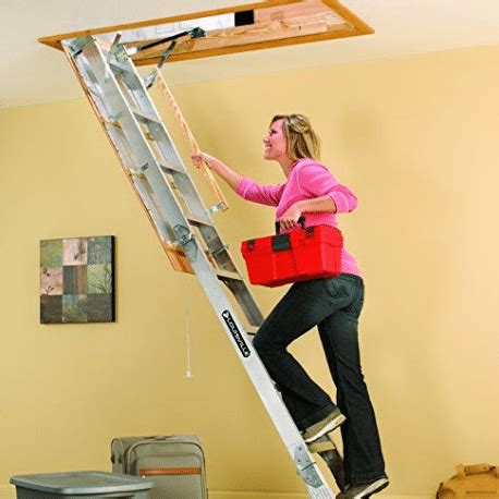best pull down attic stairs   hoist now