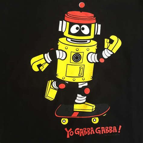 black on yo gabba gabba yo gabba gabba black plex skateboard shirt website