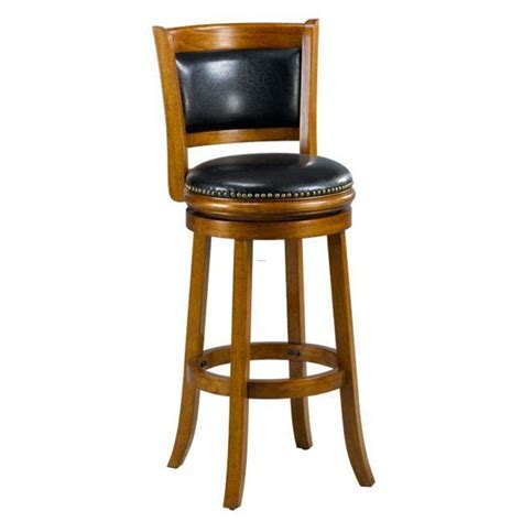 bar stools images alexis dark oak padded back 29 inch barstool design