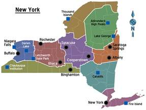 Map Of New York State With Major Cities by New York State Travel Guide At Wikivoyage