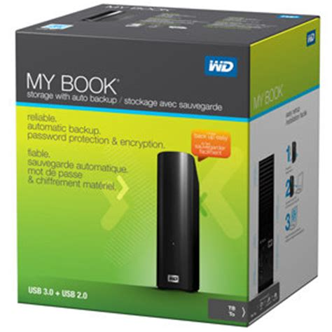 Wd My Book 3 Tb Wd Mybook Hdd External wd my book 3tb external drive storage usb 3 0 file backup and storage electronics