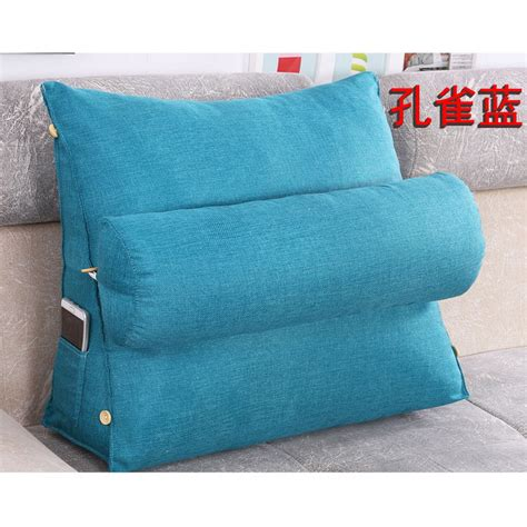 adjustable bed wedge pillow adjustable sofa bed chair rest neck support back wedge