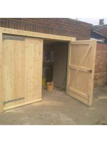Hinged Barn Doors Side Hung Side Hinged Timber Wooden Garage Door Gates Barn Doors Ebay