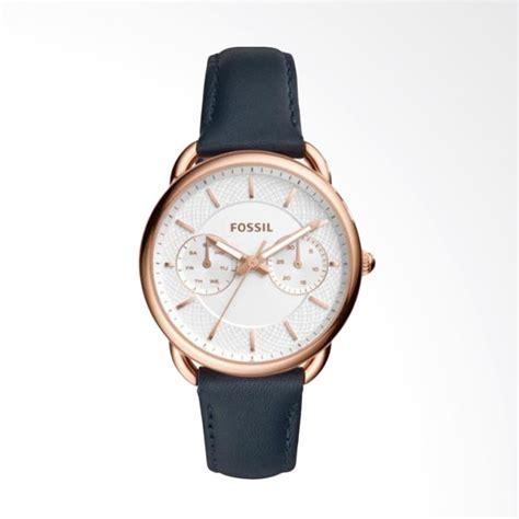 Jam Tangan Wanita Fossil Gold jual fossil es4260 jam tangan wanita leather