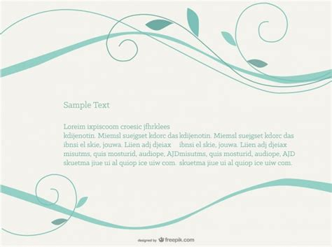 simple design software free turquoise swirls background vector free