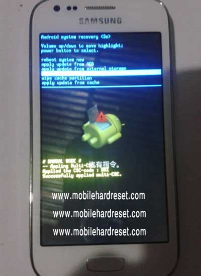 how to hard reset samsung galaxy ace 3 gt s7270 how to factory reset samsung galaxy ace 3