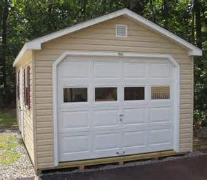 Garage Prebuilt by Prefab Garages Byler Barns