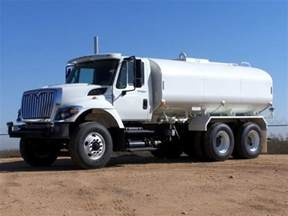 Used Cars And Trucks 4000 Water Truck 4000 Gal New International Asphalt Paving