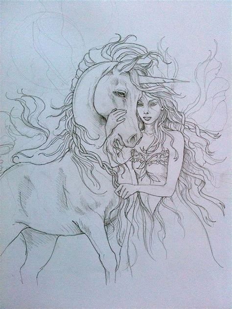 detailed unicorn coloring page 133 best images about art on pinterest black and white