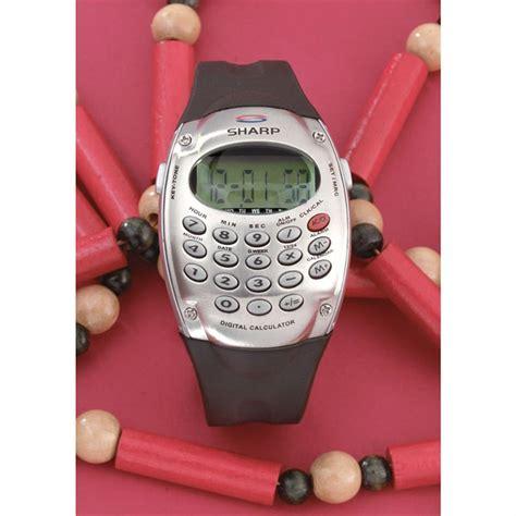 sharp 174 digital calculator with alarm 68518