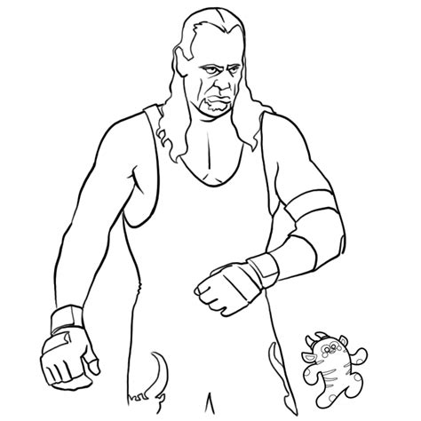 free coloring pages of the undertaker