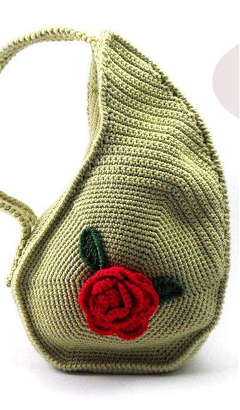 cute pattern purse pdf pattern unique teardrop shape