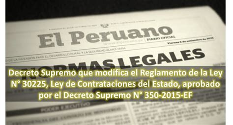 decreto supremo n 010 2015 minedu modifica el reglamento decreto supremo que modifica el reglamento de la ley n