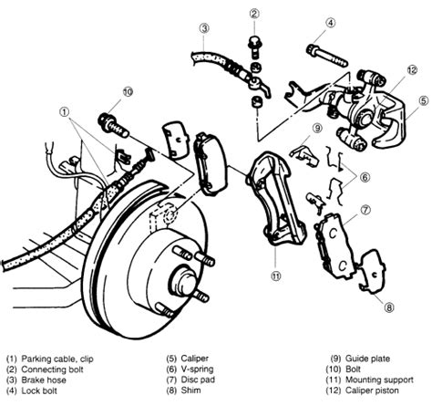 repair guides rear disc brakes brake pads autozone com