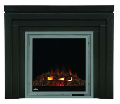 Electric Mantel Fireplace Heater by Napoleon Ef30 Electric Fireplace With Heater And Metro Mantel