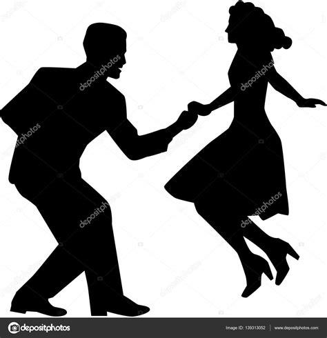 ballo swing coppia di ballo swing vettoriali stock 169 miceking 139313052