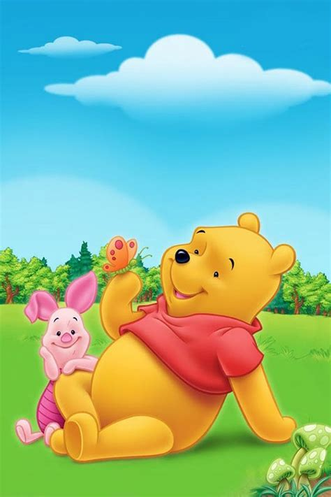 Jc1 Selimut 10 Winnie The Pooh winnie the pooh disney wp winnie the pooh e borboletas