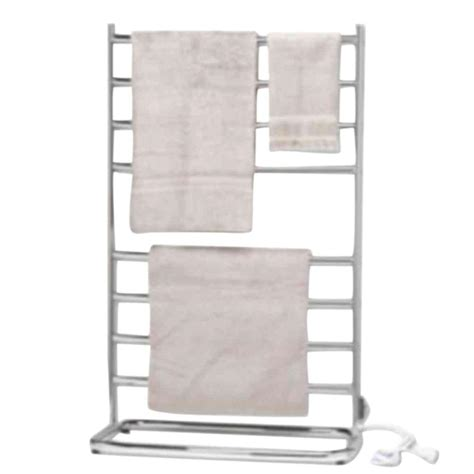 Home Towel Warmer Warmrails Hyde Park 40 In Towel Warmer In Satin Nickel