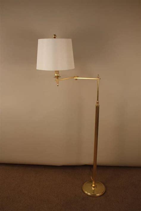 adjustable swing arm floor l bronze swing arm adjustable height floor l at