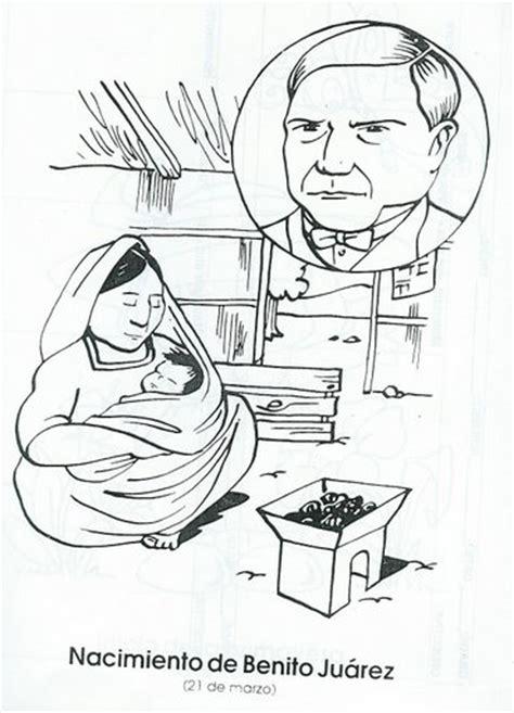 imagenes de benito juarez faciles para dibujar pintar dibujos natalicio benito juarez
