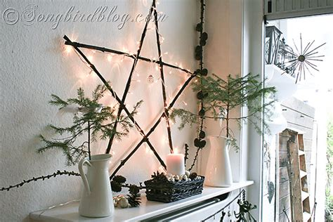 mantel decor my simple winter mantel lighted branches epsom salt and urn nature inspired holiday decorating countdown to christmas