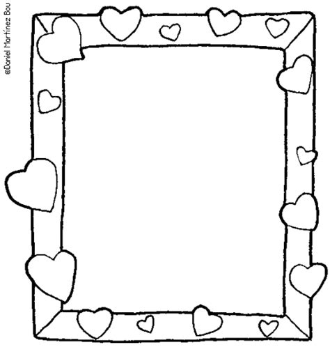 free printable picture frame templates 8 best images of picture frames and coloring printable