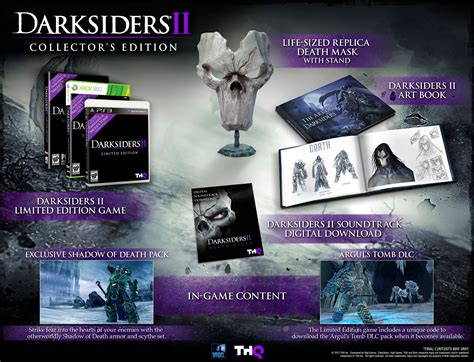 More Limited Edition 2 by Darksiders Ii Collector S Edition Announcement We