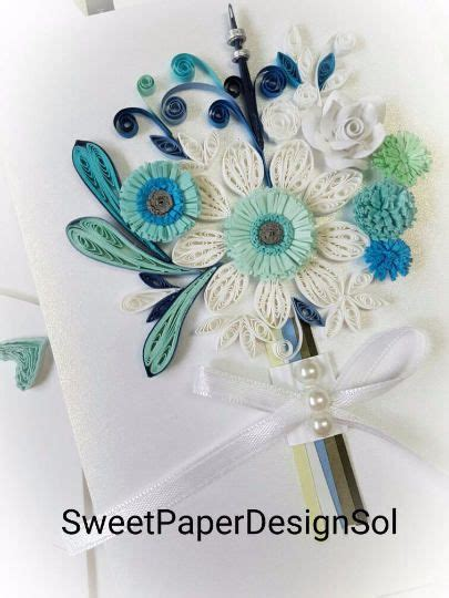 Quilling Wedding Bouquet 2800 best quilling images on anniversary cards