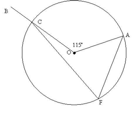 Interior Angles Of A Circle by Angles Within A Circle