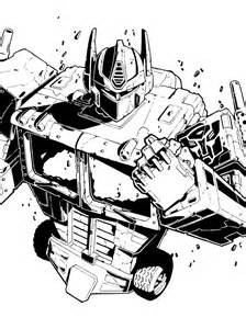 optimus prime inked by cryptyc08 on deviantart