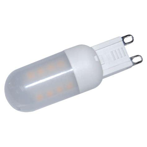 led leuchtmittel g9 voltolux hochvolt led leuchtmittel 3 w g9 warmwei 223