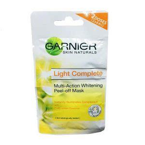Harga Masker Wajah Garnier Lemon 30 merk masker pemutih wajah alami terbaik dan harganya