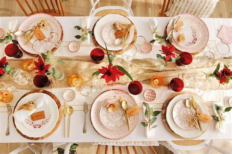 como decorar un centro de mesa de navidad decorar la mesa de navidad ideas para innovar