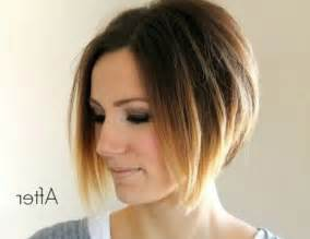 umbre angled bob hair cuts 38 pretty short ombre hair you should not miss styles weekly