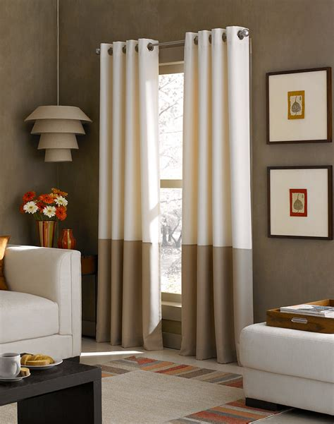 color block curtains drapes black out curtains kendall color block grommet curtain