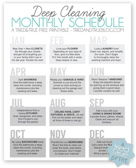 Calendario Youmove 25 Unique Cleaning Checklist Ideas On