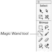be the magic of you tools to transform your books using the magic wand tool macromedia fireworks 8