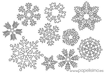 plantilla copos navidad c 243 mo hacer copos de nieve de papel papelisimo