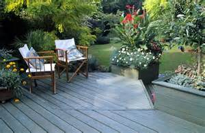 Patio With Garden How To Landscape Patios And Small Gardens The Garden Glove
