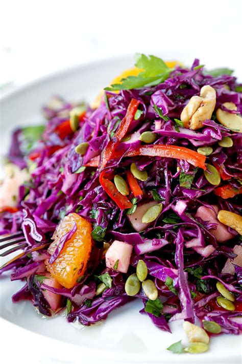 Beachbody Detox Salad by Detox Cabbage Slaw Pickled Plum Food And Drinks