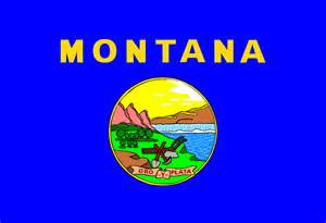 montana state colors free vector graphic montana state flag blue free
