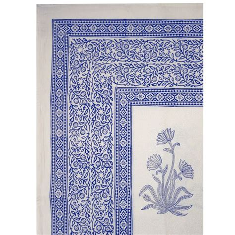 pattern tablecloths blue floral pattern tablecloth square
