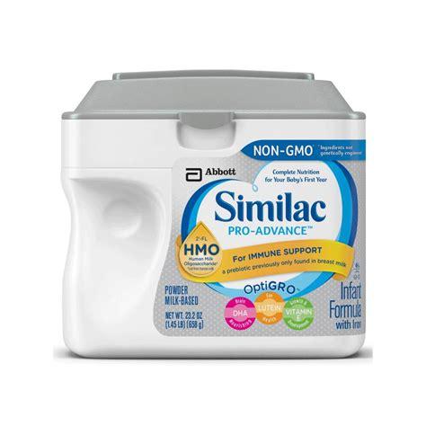 Similac Advance abbott nutrition similac pro advance optigro infant